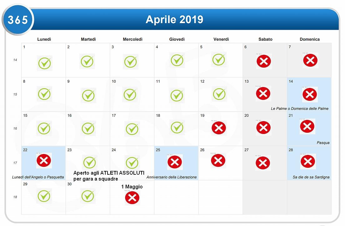 Calendario Con Festivita 2019.News A S D Societa Scherma Prato